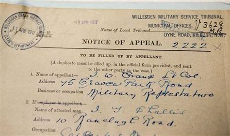 Ww1 Records Newly Released Wwi Records Give Details Of 8 000 Attempts To Avoid Conscription Wwi