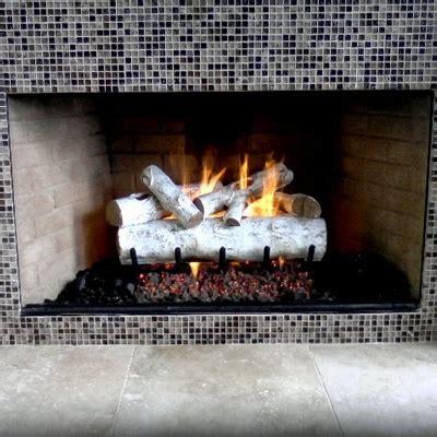 white birch gas fireplace logs white birch gas logs build it