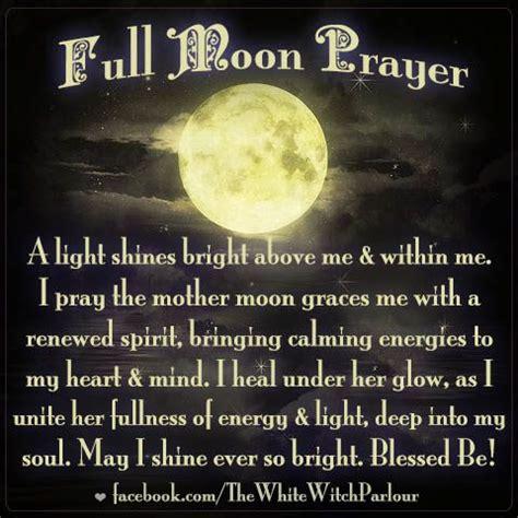 white light healing prayer moon prayer witch healing spiritual goddess