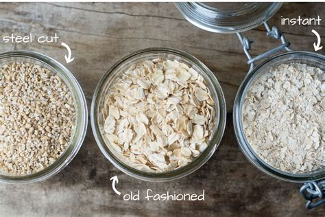 The Difference Between Steel Cut Old Fashioned Quick - overnight strawberry steel cut oats healthy ideas for kids