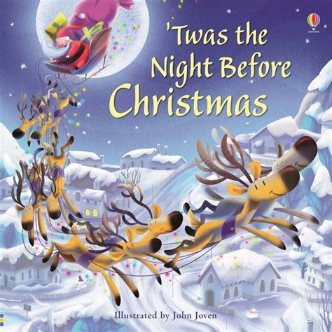 the night before christmas twas the night before christmas at usborne books at home organisers