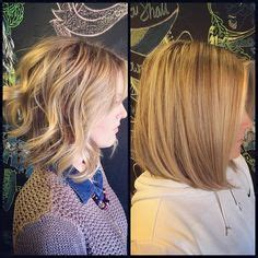 versatile haircut curly or straight photos curly a line long bob haircut with ombre ig