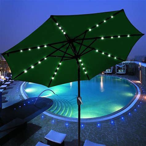 Umbrella Flow 3 solar powered patio umbrella 187 gadget flow