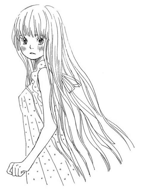 Beautiful Anime Coloring Pages To Print Beautiful Anime Coloring Pages Of Beautiful Anime