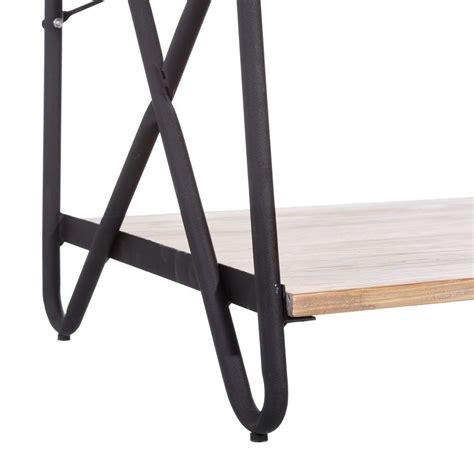 etagere legno etagere industrial legno pino e ferro mobili librerie