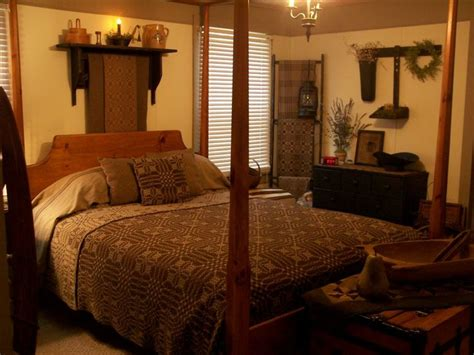 primitive bedroom decorating ideas primitive bedroom that prim country look pinterest