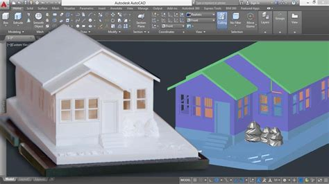 3d templates for autocad 3d printing a scale model with autocad