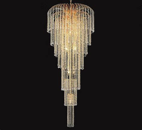 cristal chandeliers falls collection 11 light large chandelier grand light