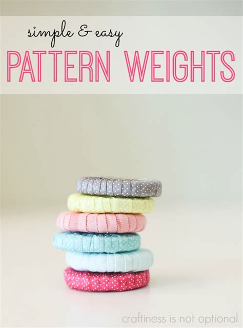 pattern weights pattern simple and easy pattern weights free sewing tutorial