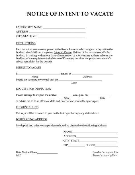 Best Photos Of Letter Requesting Tenant To Vacate Letter To Landlord Notice Vacate Form Notice To Vacate Letter To Tenant Template