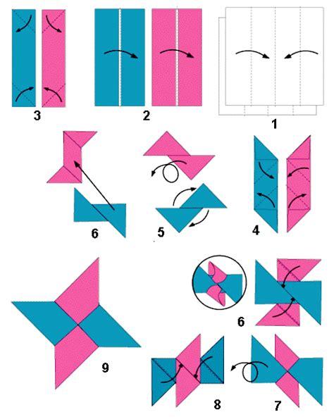 cara membuat origami bintang cara membuat origami bintang ninja shuriken star
