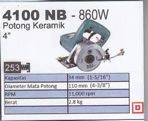 Mata Bor Keramik Makita 8mm Mata Bor Kaca Makita 1 makita 4100 nb 860w mesin potong keramik products of