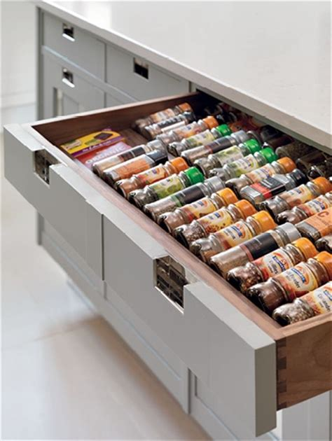 Spice Rack In A Drawer Spice Rack Drawers London Home Renovations Pinterest
