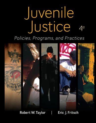 juvenile detention a guard s perspective books juvenile justice policies programs practices isbn13