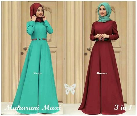 Baju Gamis Wanita Remaja Jual Baju Muslimah Maharani Terbaru Busana Muslim