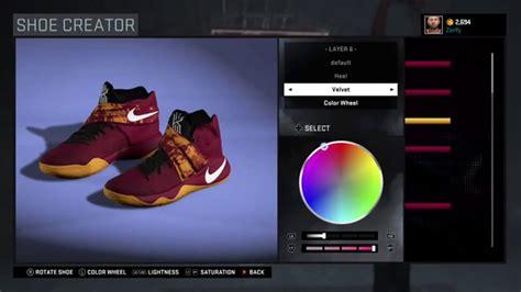 shoe creator nba 2k16 shoe creator nike kyrie 2 custom quot cleveland