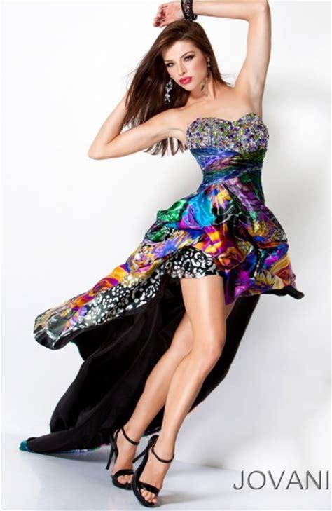 Jv Premium Dress Aluna Fit L Besar multi color high low prom dresses www pixshark images galleries with a bite
