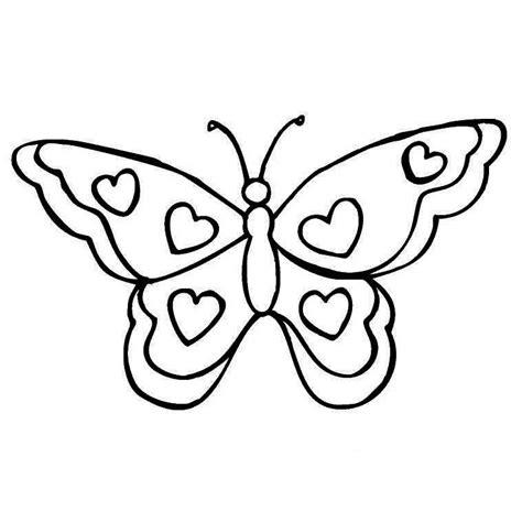 imagenes para dibujar sin color dibujos para colorear de mariposas infantiles hermosas