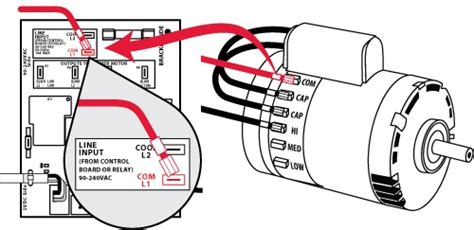 wiring diagram ac blower motor hvac fan motor wiring