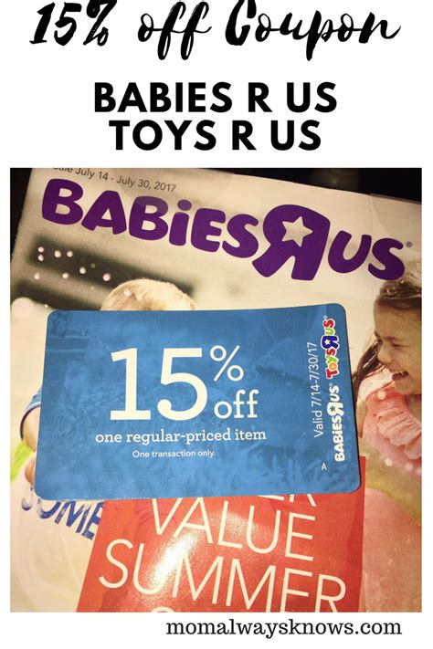 7 Customers To Avoid At Babies R Us by Babies R Us Toys R Us 15 Coupon Until 7 30 17