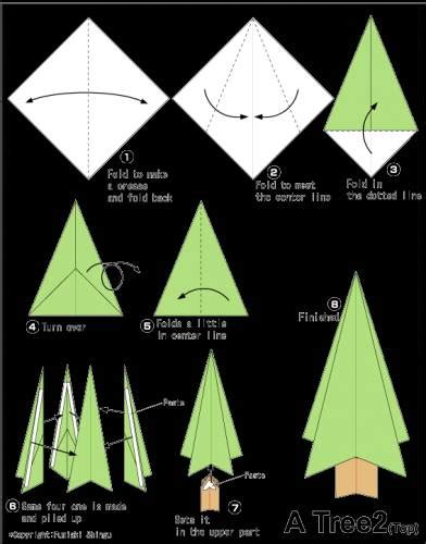 tutorial origami pohon natal christmas origami origami about handycraft all about