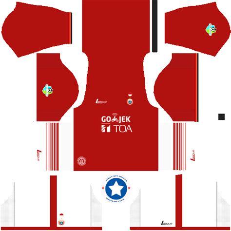 Jerseay Persija 1 logo kits liga 1 golok dan liga 2 indofood logo kits