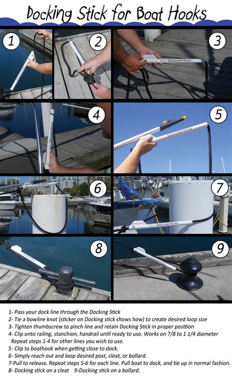 boat hooks docking docking stick docking helper