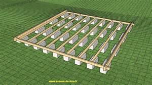 pr 233 paration de plots pour le montage d un chalet avi