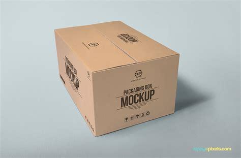package design mockup 2 free packaging box mockups on behance