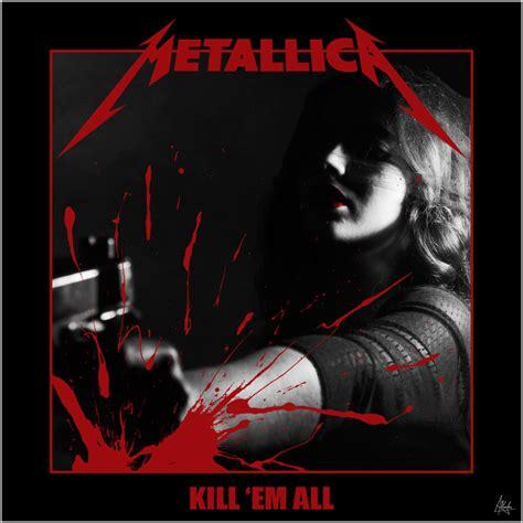 metallica kill em all artstation metallica kill em all ayoub ziani