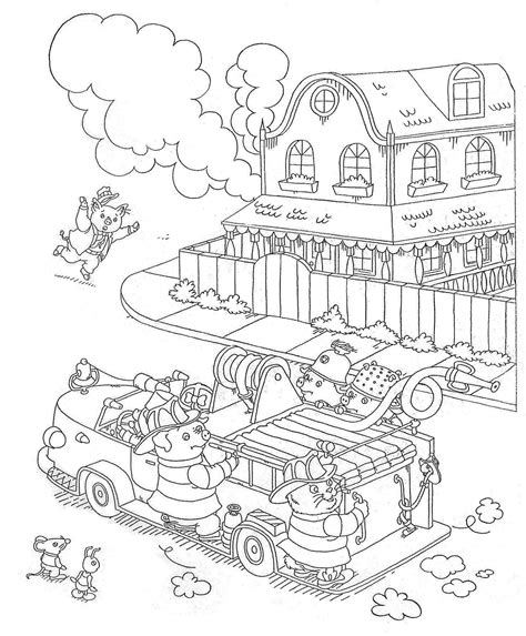 Richard Scarry Coloring Pages happy birthday to richard scarry scrink bring me up
