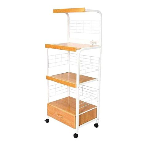 microwave cart with drawer white ore international white microwave cart with shelf g571wh