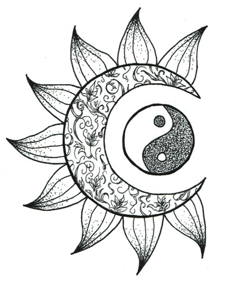 psychedelic palescale coloring book new coloring style 21 images accentuate the colors interior printed in paled color to guide you books yin yang on