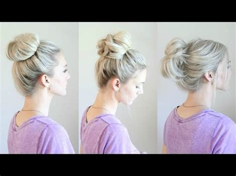 different styles or ways to fix human hair how to make a messy bun 6 easy ways messy buns and