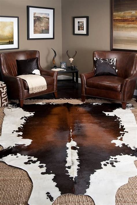 large living room rugsdecor ideas best 25 cowhide rug decor ideas on pinterest cowhide