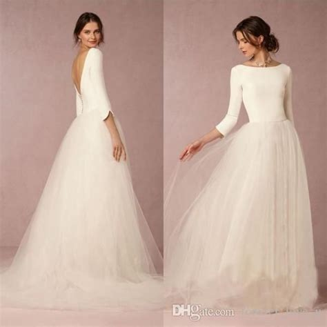 Cheap Designer Wedding Dresses by Cheap Stunning Winter Wedding Dresses A Line Satin Top