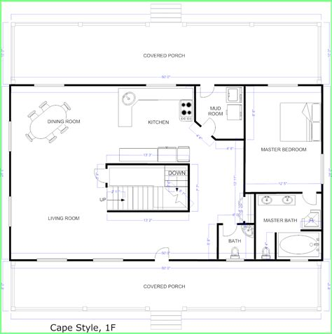 how to make a blueprint for a house create house floor plans free 57 images free floor plan