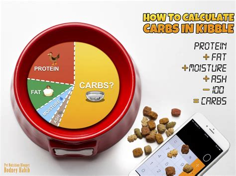 how many carbs in dogs how to calculate how many carbs are in a bag of pet food planet paws