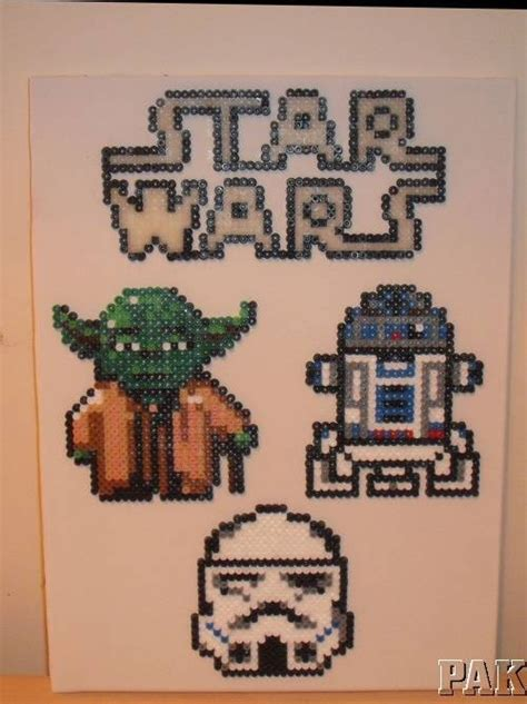 star wars on pinterest 7055 pins 1000 images about hama beads on pinterest canvas wall