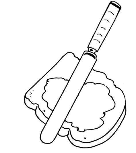 food coloring pages peanut butter jelly sandwich