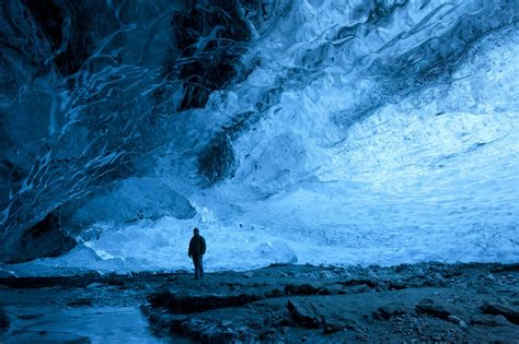 crystal ice cave iceland inside iceland s crystal ice cave