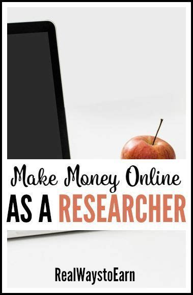 Paid Research - 1000 ideas about jobs at home on pinterest part time