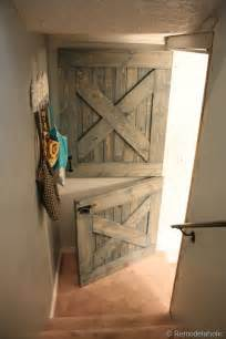 Diy Barn Door Baby Gate 25 Great Diy Door Ideas