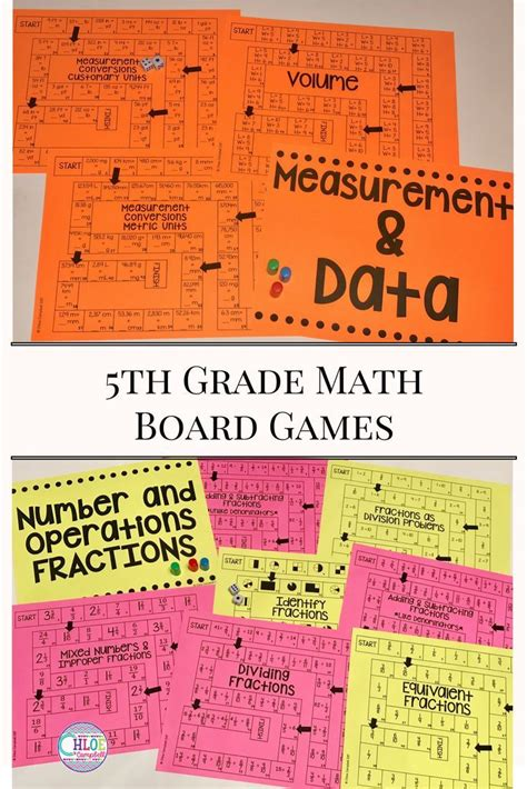 printable math board games 5th grade 6995 best fifth grade finds images on pinterest