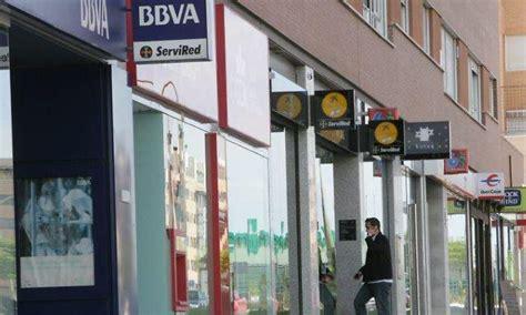 oficinas bbva huelva la banca espa 241 ola pierde casi 43 600 millones de euros en