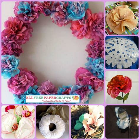 Coffee Filter Paper Crafts - 13 creative coffee filter crafts allfreepapercrafts
