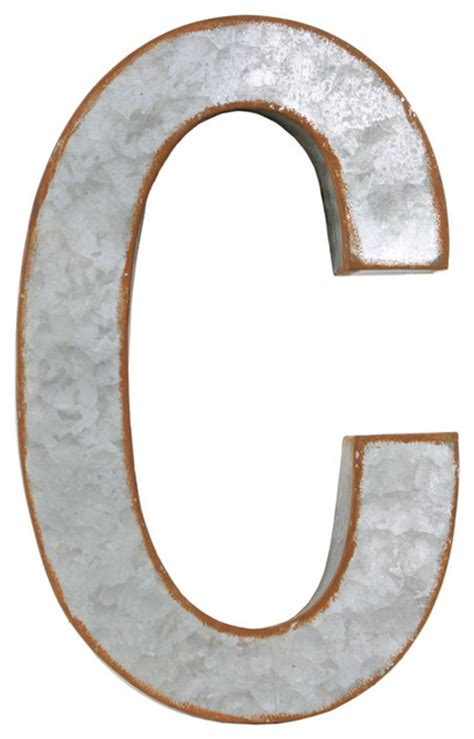 metal decorative letters home decor metal alphabet wall decor letter c industrial wall letters