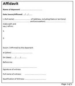 template of affidavit affidavit driverlayer search engine