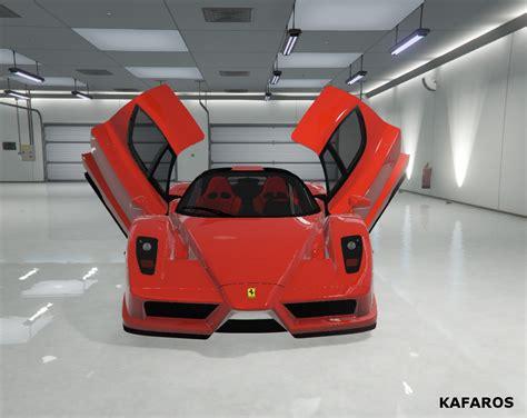 Gta 5 Ferrari Cheat by Ferrari Enzo Add On Replace Gta5 Mods