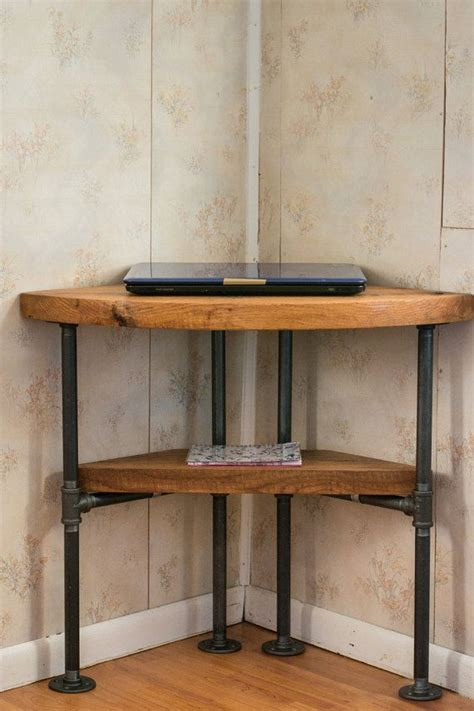reclaimed wood corner desk 211 best images about new house on pinterest steel